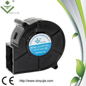75x75x30mm 7530 ventilateur à soufflante sans balai de CC 12V 24V Ventilateur centrifuge