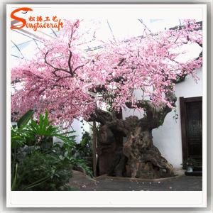 Venda a quente Flor de Cerejeira Artificial Tree Árvore Seca para decoração