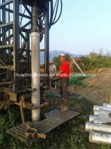9''5/8 en acier inoxydable 304 1.0mm Pont de l'emplacement de l'écran fendu utilisé pour l'eau et d'irrigation