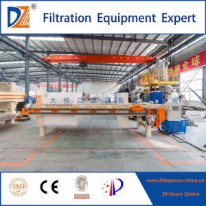 De automatische Pers van de Filter van de Kamer voor de Behandeling van het Afvalwater van de Papierfabricage