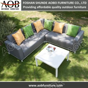 Новая конструкция из алюминия ткань садовой мебелью вид в разрезе угловой холл диван,