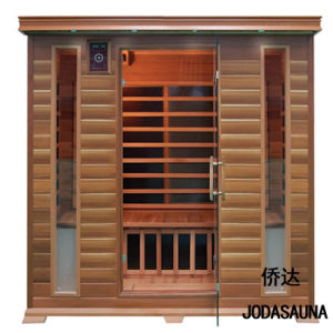 Four Person Solid Wood Far Infrared Sauna Room