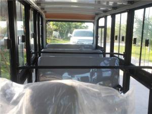 Homologação CE de restringir o baixo ruído e autocarro turístico Fechado