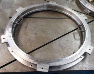 A engrenagem interna do tipo flangeado do rolamento giratório Turntable VLU200414 usadas gruas de Caminhão