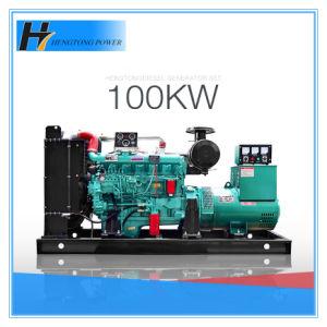 100%Pure Diesel 125kVA van Genset 100kw van de Alternator Stamford van het koper Brushless Generator