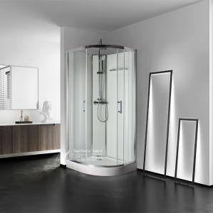 Душевая кабина/ душ полка Стеклянная сдвижная дверь для ванной комнаты: квадрант душевая кабина,-2713W