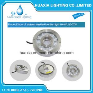 IP68 316 indicatore luminoso del raggruppamento della fontana dell'acciaio inossidabile LED per Underwater