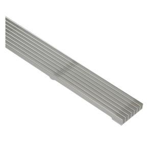 SGS aprobado claro perfil de aluminio anodizado para piezas de aire acondicionado