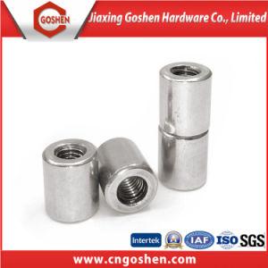 En acier inoxydable 304 Long écrou d'accouplement hexagonal