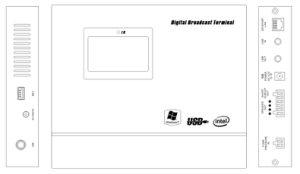 Ane PA-9007 공개 연설 IP 통신망 암호해독기 증폭기