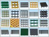 Plástico reforzado con fibra de alta resistencia/GRP rejilla moldeada/rejillas de plástico reforzado con fibra de fibra de vidrio/plataforma de trabajo pasarela flotante//.