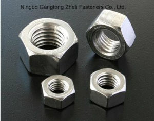 Noix Hex lourdes de l'acier inoxydable GB6170 de vente chaude