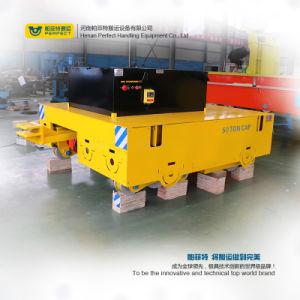 Горячая продажа дроссельная заслонка с сервоприводом электрический транспортный прицеп на цементной поверхности пола (BWP-65T)