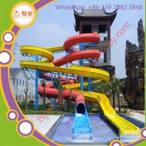 Rainbow Tobogan Espiral De Open Water Park Para La Familia De Juegos