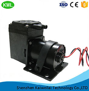 Dispositivo de baixo ruído de alta potência de 15L/Min Diafragma DC/suporte do pistão ou não o suporte da bomba de vácuo Mini para cuidados de saúde e médicos