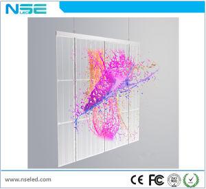 P10mm cortina LED de Video Al aire libre pantalla LED de color transparente