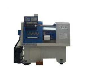 Ck6130 cama plana pequeña CNC máquina de torno horizontal de metal