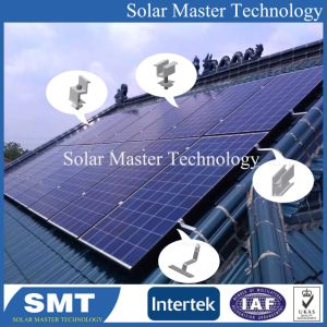 Panneau solaire PV Rack pour le toit de tuiles aigu Support solaire