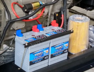 Generatore di potere diesel di serie di Ricardo 50kw