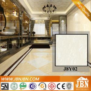 80X80フォーシャンボディ極度の光沢のある磁器の磨かれた床タイル(J8Y00)