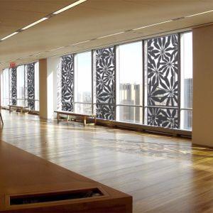 Le bâtiment commercial solide en aluminium perforé sculpté l'écran du panneau de décoration murale