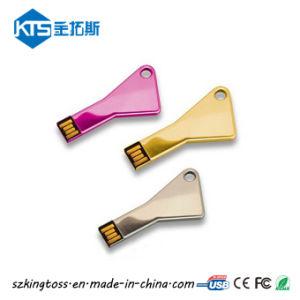 Печать логотипа OEM треугольник металлические основные формы флэш-накопитель USB