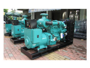 Aprire il tipo centrale elettrica del gruppo elettrogeno del motore diesel