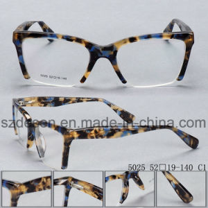 Het nieuwe Model Optische Frame van de Acetaat van de Mannen & van de Vrouwen van de Manier Flexibele