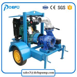 Hot Sale remorques Horizontal monté sur moteur Diesel Pompe centrifuge