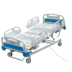Função de cinco leitos de UTI móveis hospitalares eléctrico cama hospitalar (BS-858)