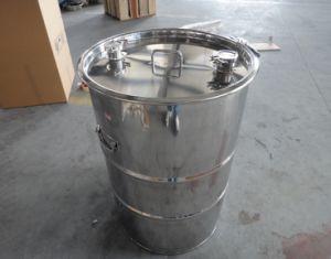 Espelho de aço inoxidável polido 10L-1000L TAMBOR