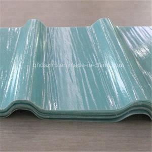 Les panneaux de tôle de toit ondulé en fibre de verre