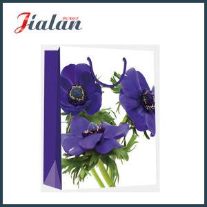 운반대 포장 쇼핑 선물 종이 봉지가 공장 직접 도매에 의하여 꽃이 핀다