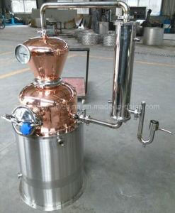di 200L 500L 1000L dell'alcool della vodka del POT distillatore di rame rosso ancora