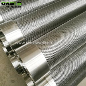 Oasis Wedge Wire Screen Toilets Well Screen Casing Pipe