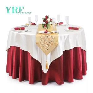 132 het  Ronde Tafelkleed Spandex van het Banket van de Partij van het Huwelijk van het Tafelkleed Witte Roze Gouden Zilveren Rode Blauwe