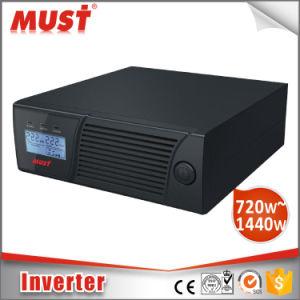 Fuera de la red Home Inversor 20un cargador 2400VA 220V/230V