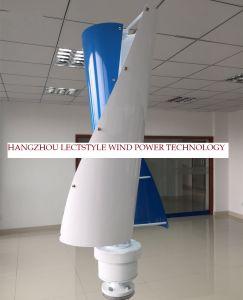 uso verticale del generatore di vento di asse di CC di 100W 12V24V per la casa/barca/via
