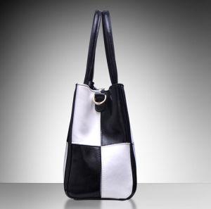 女性は作る実質の革デザイナー肩のメッセンジャーHandbag&Case (XZ1049)を