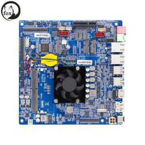 Suporte da motherboard Mini-Itx fina I U5-72003-7100, eu me u7-7500u, monitor HD de 4K