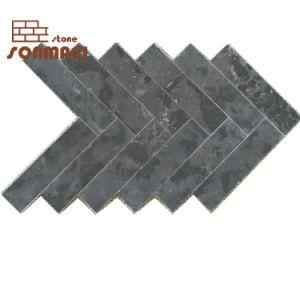 De zwarte Marmeren Tegel van de Betonmolen van de Steen van het Mozaïek