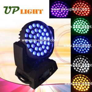 ズームレンズの洗浄36*18W 6in1 LED段階の照明(紫外線RGBWA)