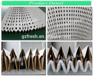 В сложенном виде сухого типа для покраски крафт-бумаги фильтр