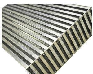 構築機械装置のアルミニウム熱交換器のラジエーターオイルの空気クーラーのコア