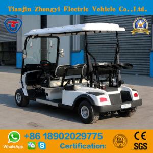 4 Lugares de venda quente Zhongyi carrinho de golfe com certificação CE