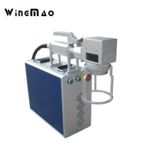 Портативное устройство для металлических станок для лазерной маркировки волокон гравировка