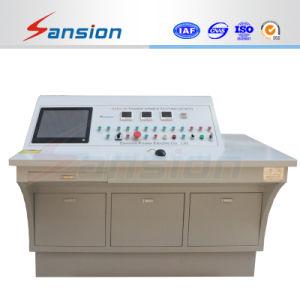Transformador automático banco de pruebas con la prueba de carga no carga