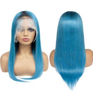 100% naturel des cheveux humains Virgin cheveux péruvien Full Lace Wig