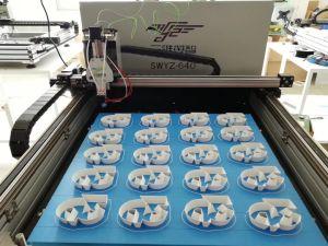 Cambio de Color automático en 3D de tipo industrial Carta Impresora Shell