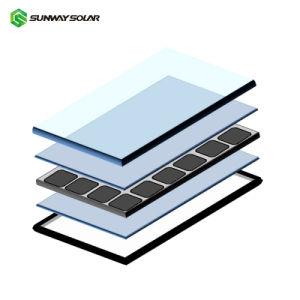 comitato solare monocristallino fotovoltaico di 330W 360W 1kw mono